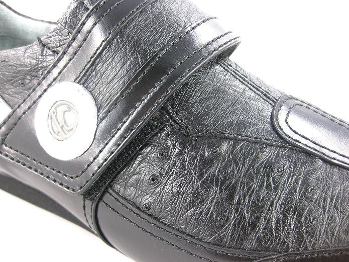 Zapatos de Caballero en Piel de Ternera y Avestruz Franco Cuadra: Amazon.es: Zapatos y complementos