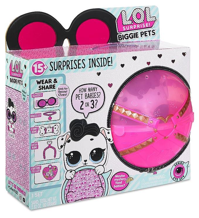669ead0419fa Amazon.com  L.O.L. Surprise! Biggie Pet Dollmation with 15+ Surprises  Toys    Games