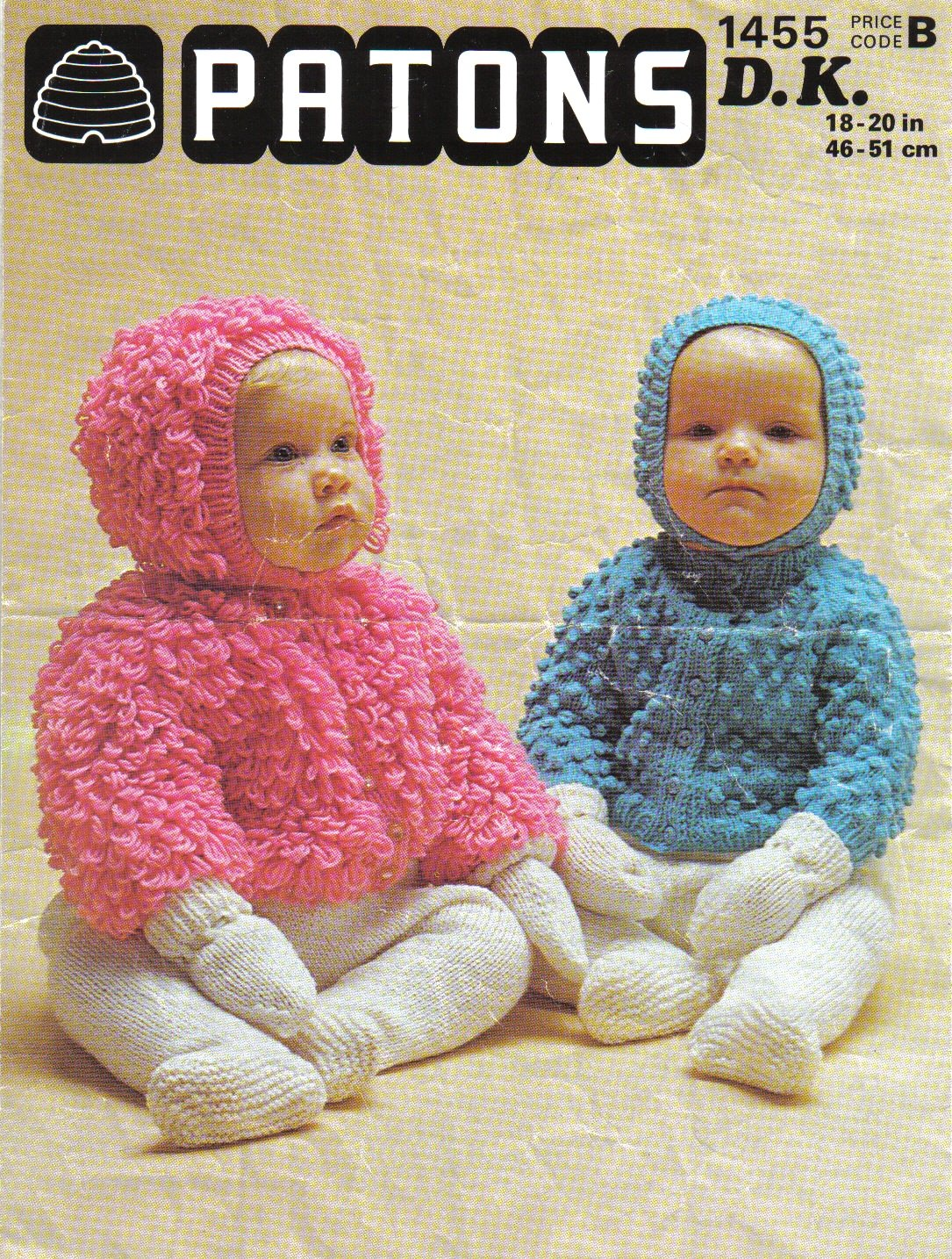 Patons Baby\'s Loopy Jacket and Loopy Hat Knitting Pattern: To fit ...