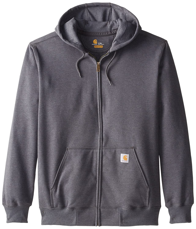 Carhartt mens Rain-defender Paxton Heavyweight Hooded Zip Front Sweatshirt - Tall Carhartt Sportswear - Mens 100614