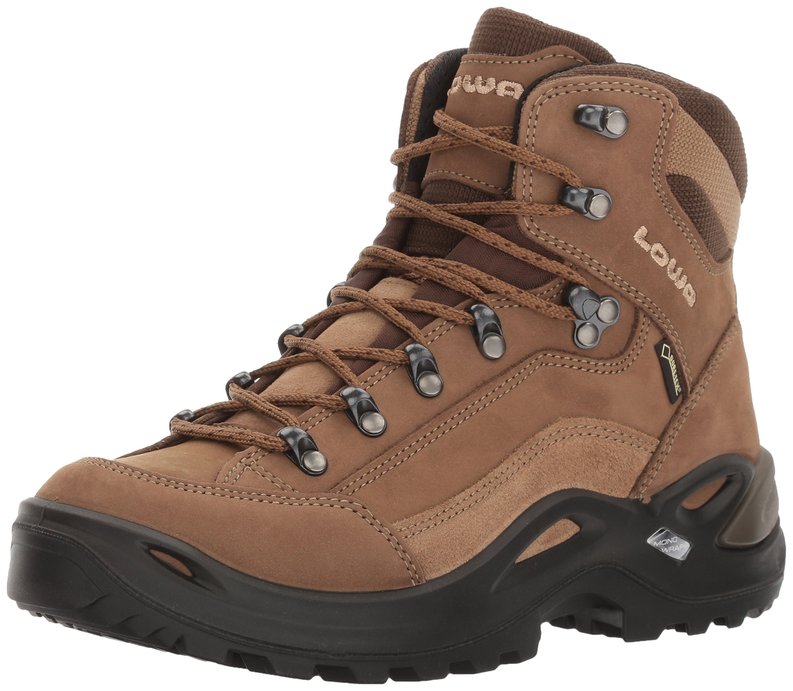 Lowa Women's Renegade GTX Mid Hiking Boot,Taupe/Sepia,7 M US