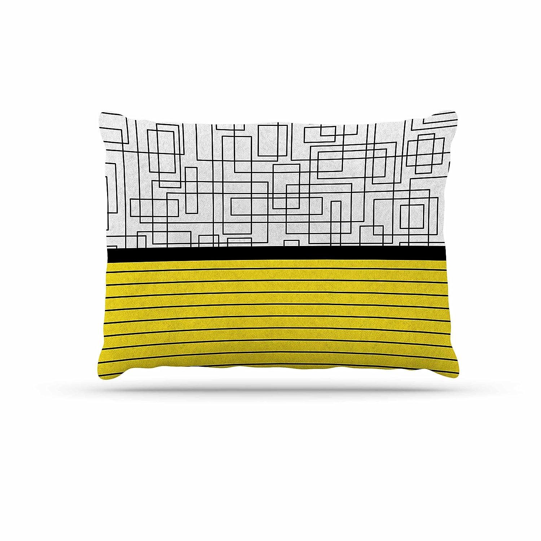 KESS InHouse Trebam Pola V.2-Tags Dog Bed, 50  x 40