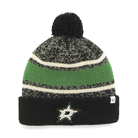 24cec06ff5c ... reebok fashion color grey knit hat cap toque beanie osfa a3e1f d2e41   get nhl dallas stars 47 fairfax cuff knit hat with pom one size fits most  43f15