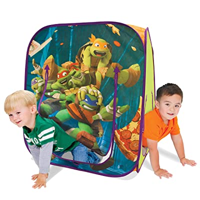 Playhut Teenage Mutant Ninja Turtles Hide N Play Playhouse, Green: Toys & Games