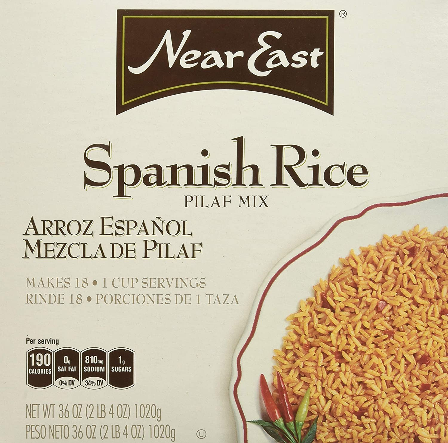 Quaker Near East Spanish Rice, 6 Count (Pack of 6)