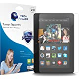 Tech Armor Kindle Fire HDX 8.9 Inch (2013 Release High Defintion (HD) Clear Screen Protectors -- Maximum Clarity and Touchscreen Accuracy [2-Pack]