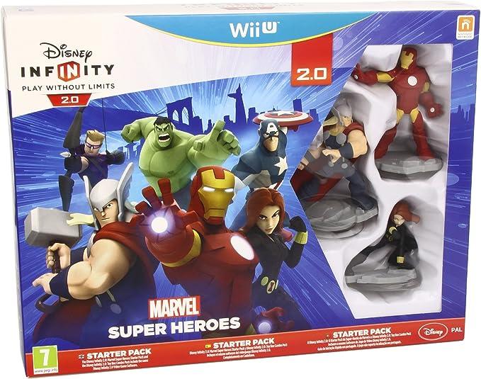 Disney Infinity: Marvel Super Heroes. Starter Pack 2.0 - Nintendo ...