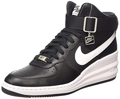 sports shoes 0adf9 af65d ... discount nike lunar force 1 sky hi chaussures de gymnastique femme noir  black 6c14e 8283d