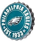 Philadelphia Eagles NFL Bottle Cap Wall Sign