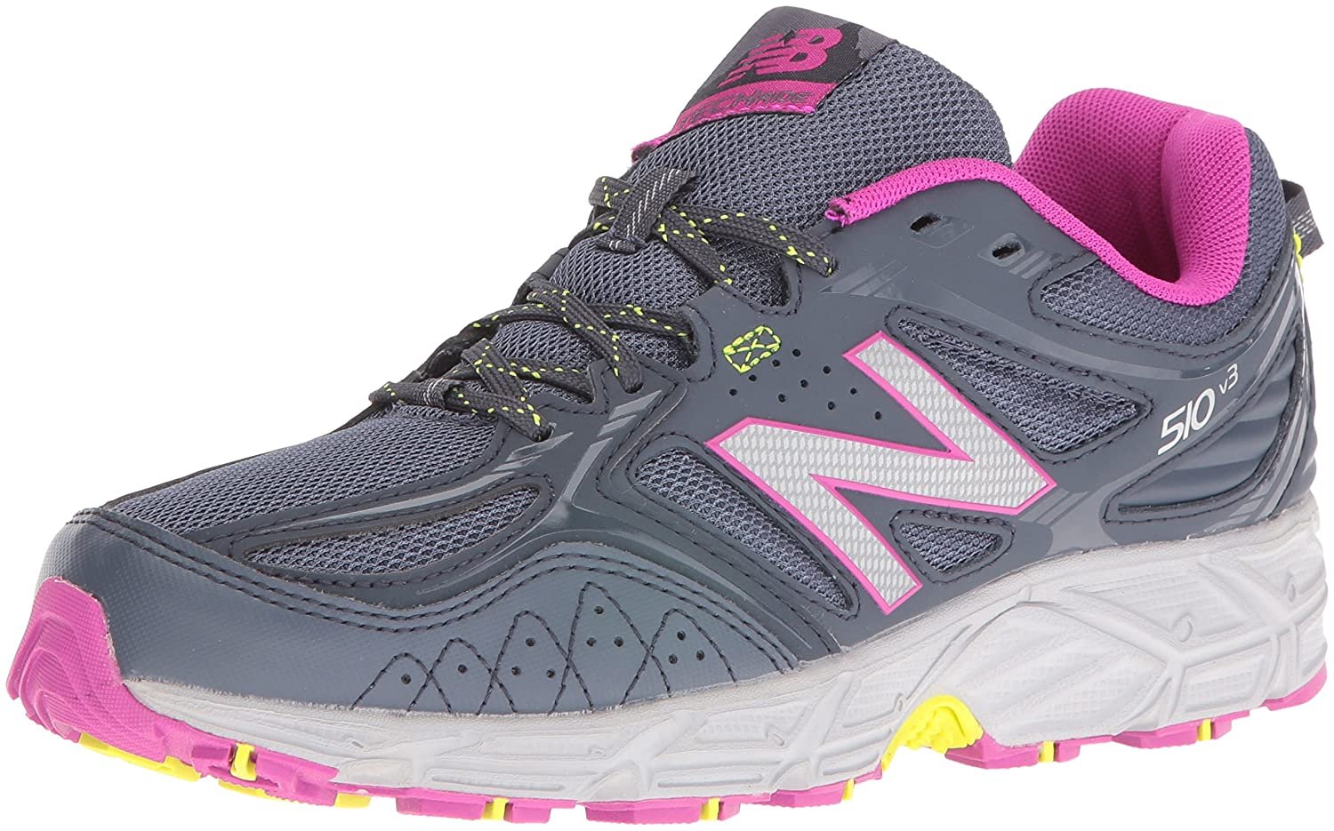 New Balance Women's WT510RS3 Trail Running Shoes B01CQVOMRC 5.5 W US|Dark Grey