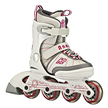 16d033f8ff5 K2 Sports Junior Anna 2012 Fitness Inline Skates (White Pink