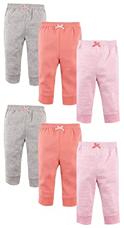 0aad813ab Amazon.com  Luvable Friends Baby Boys and Girls 6 Pack Tapered Ankle ...