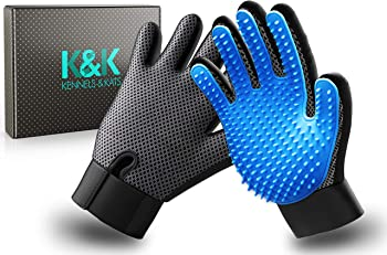 K&K Pet Grooming Glove Gift Set