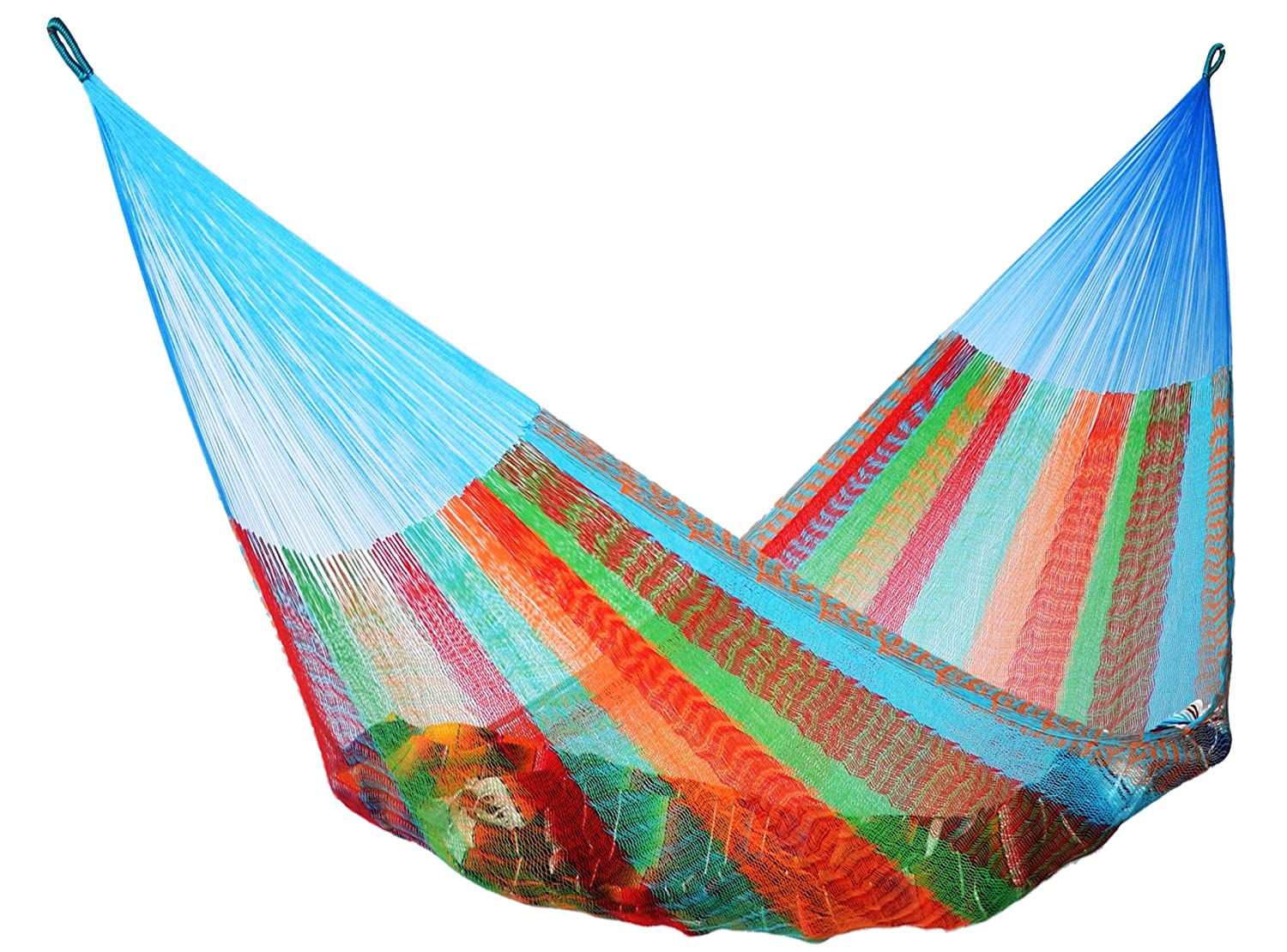 amazon     mayan hammock double size multicolor   garden  u0026 outdoor  rh   amazon