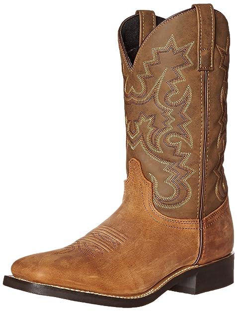 e8135552d Laredo 7873 Botas Vaqueras para Hombre Saltillo Stockman marrón Cheyenne