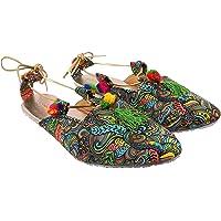 Rajasthani Jaipuri Partywear Ethnic Womens Girls Ladies Ethnic Flat Sandal