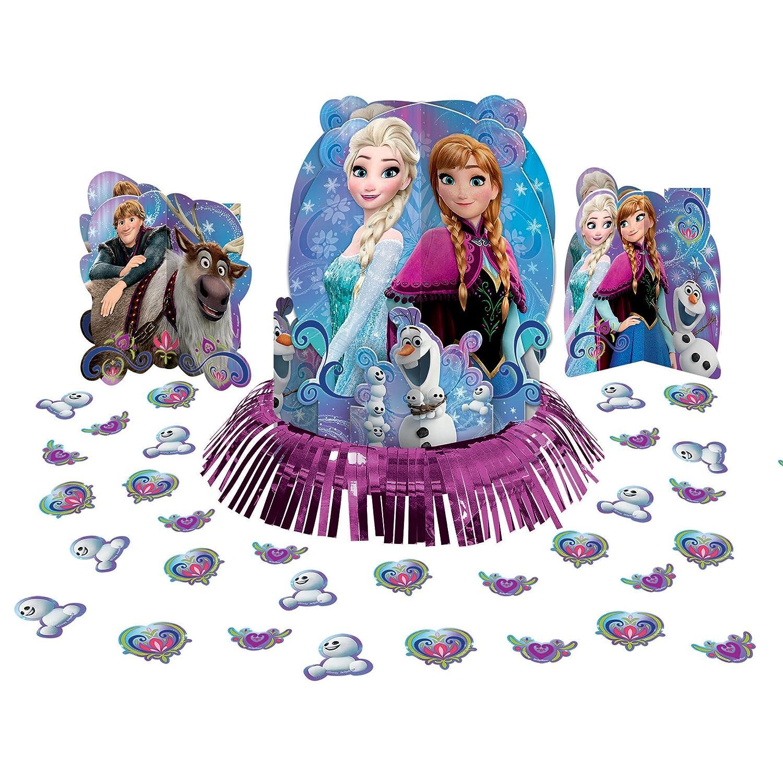 Disney Frozen Magic Elsa Anna Birthday Party Table Centerpiece Decoration Kit