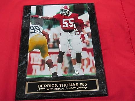 new concept 4210c a6f35 Amazon.com: Derrick Thomas Alabama Crimson Tide Collector ...