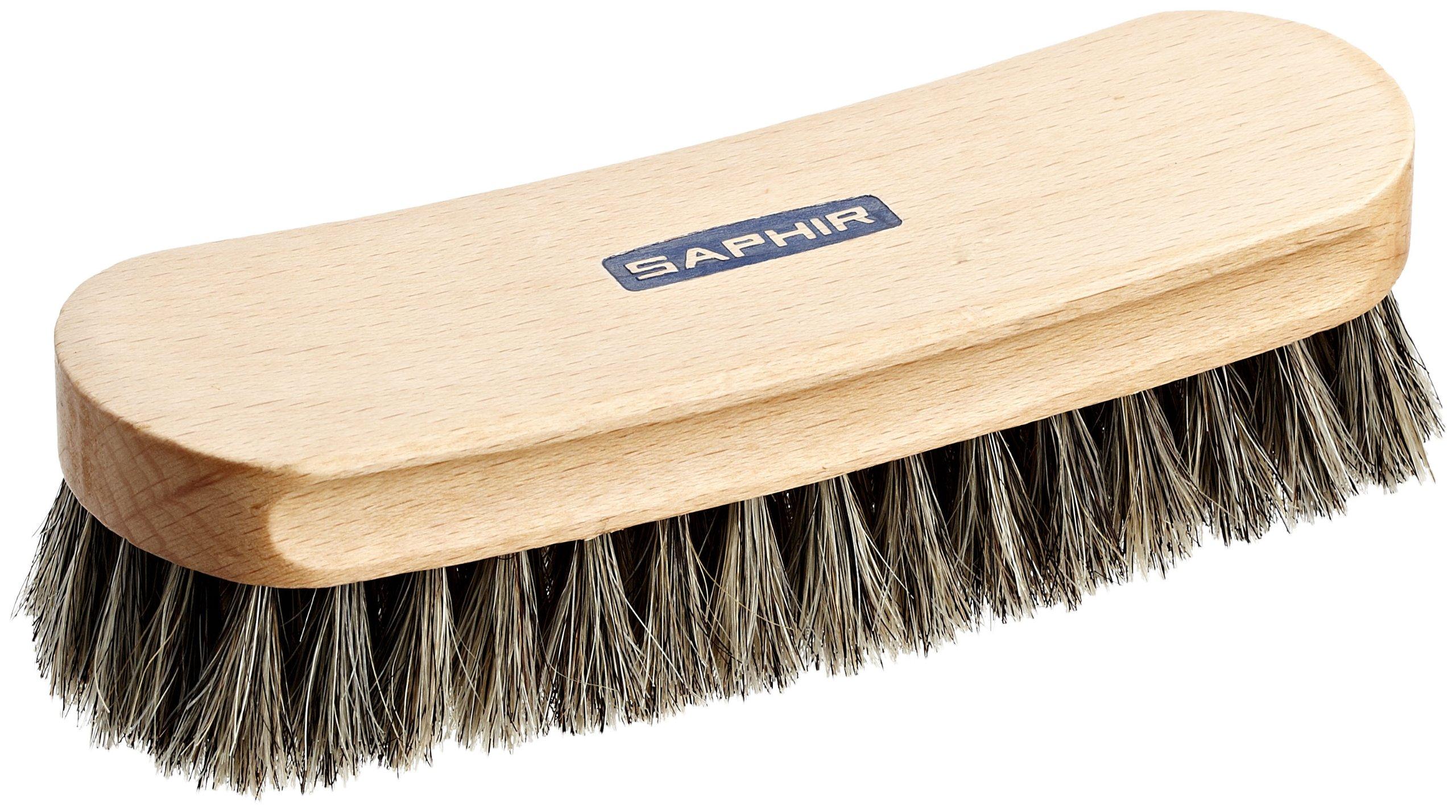 Saphir 7'' Natural Horsehair Brush (18cm) by Saphir (Image #2)