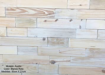 panel de madera natural con relieve para revestir paredes interiores blanco - Revestir Paredes