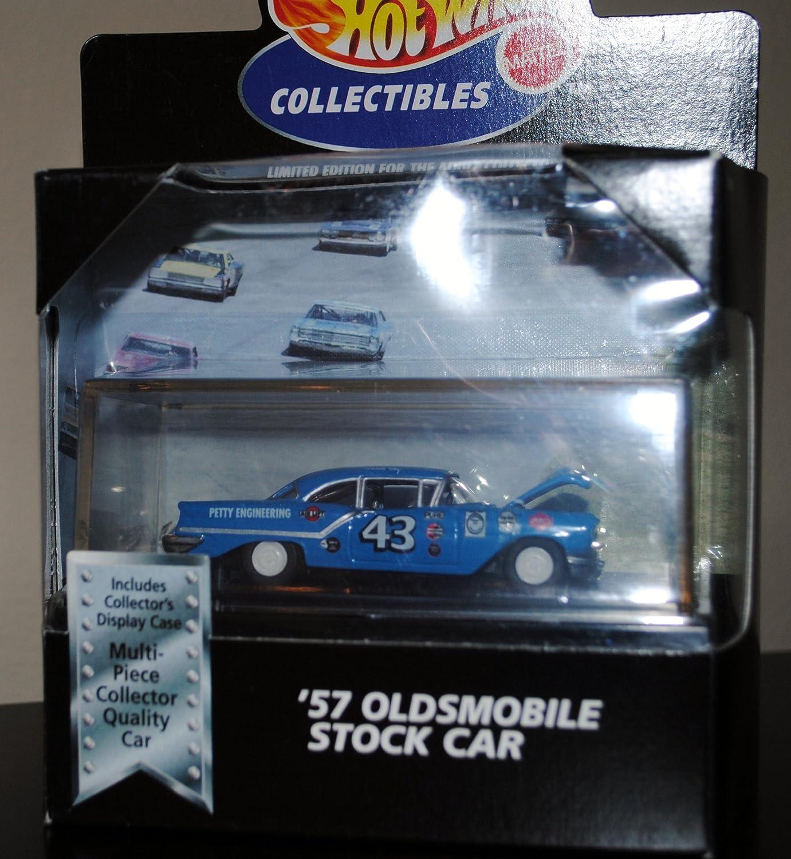 Hot Wheels 57 Oldsmobile Stock Car Black Box 100%: Amazon.es: Juguetes y juegos