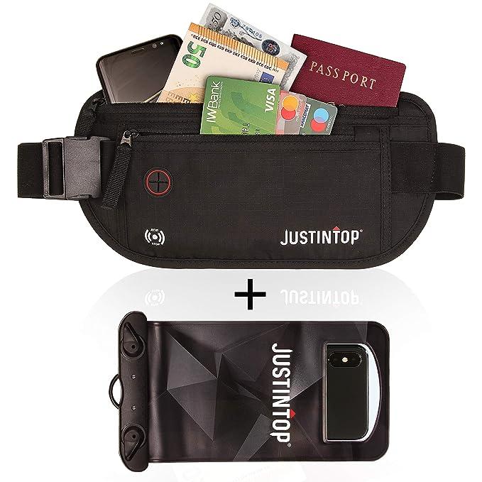 52 opinioni per Justintop   Marsupio Protezione RFID Cintura Viaggio Anti scippo   Sport Corsa
