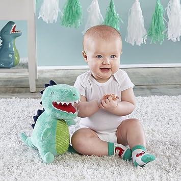 Baby Aspen, Doug the Dinosaur Plush with Socks for Baby