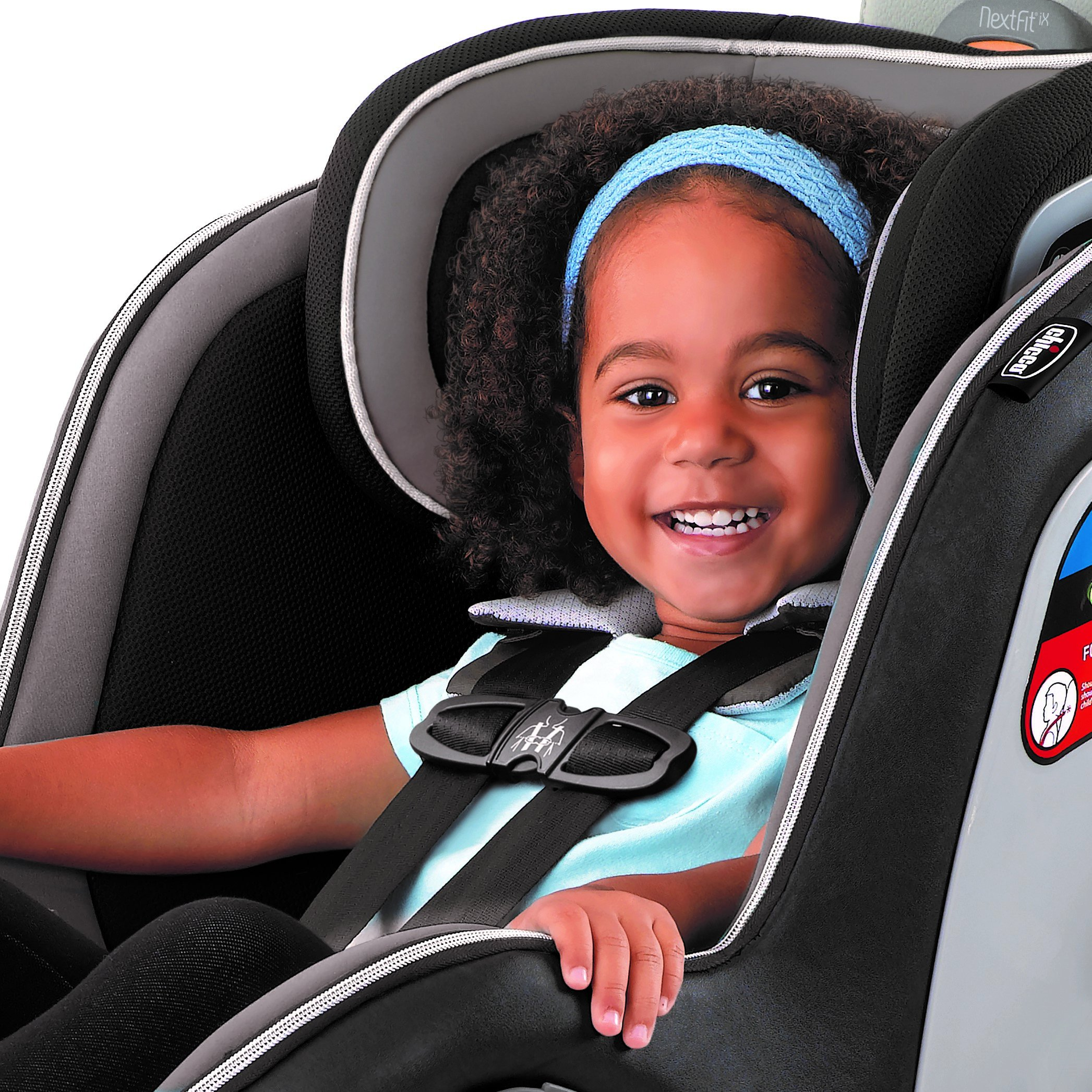 Chicco NextFit iX Zip Air Convertible Car Seat, Surf ...