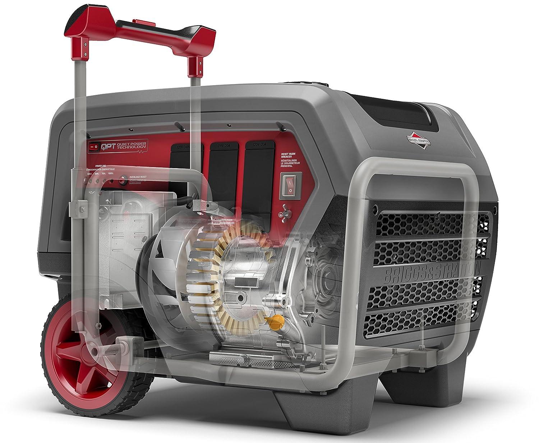 Amazon.com : Briggs & Stratton 30675 Q6500 Inverter Generator - 6500  Starting Watts QuietPower Series Portable Generator for Home Backup :  Garden & Outdoor