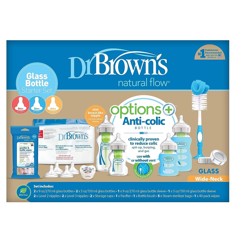 Amazon.com: Dr. Browns Options - Juego de biberón y biberón ...