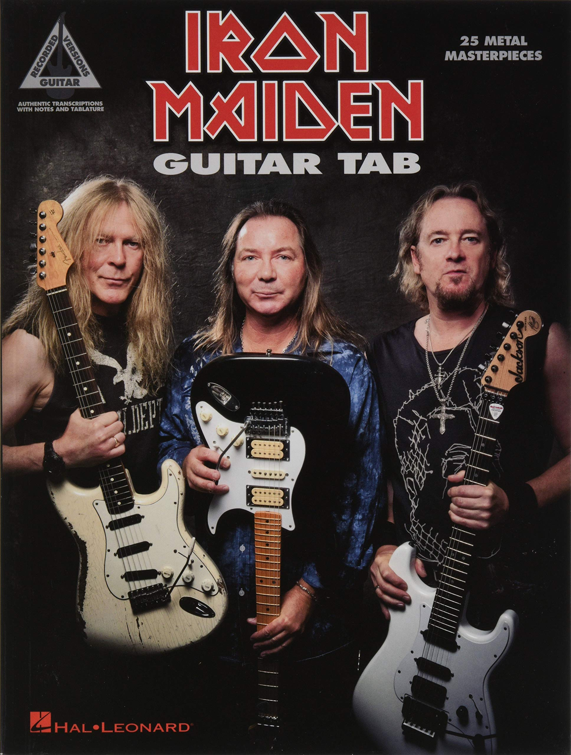 Iron Maiden: Guitar Tab - 25 Metal Masterpieces Guitar Recorded ...