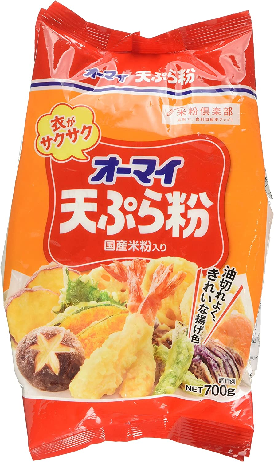 Ohmai Tempura Batter Mix 700 Gram Amazon Co Uk Grocery