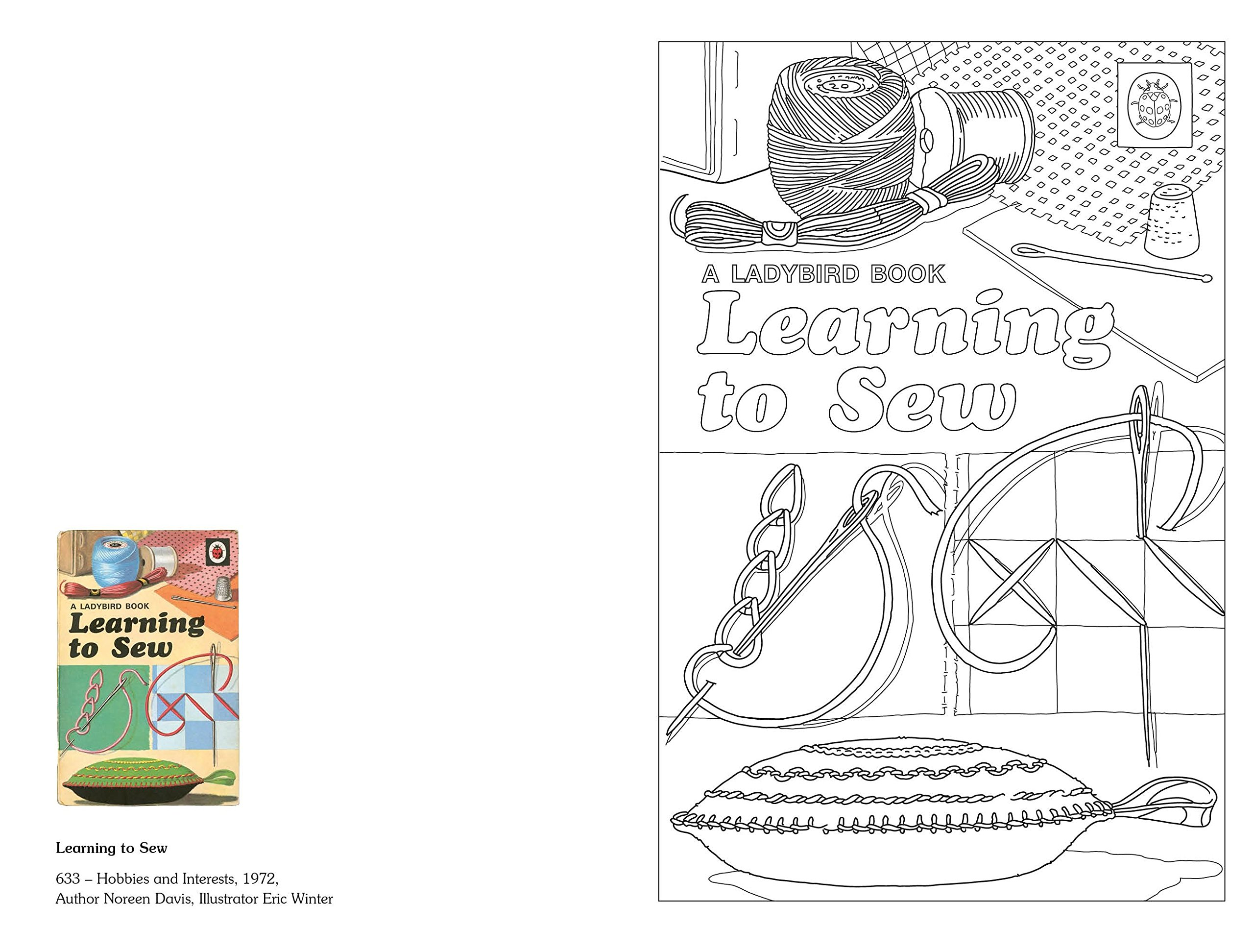 a ladybird book of colouring colouring books amazon co uk