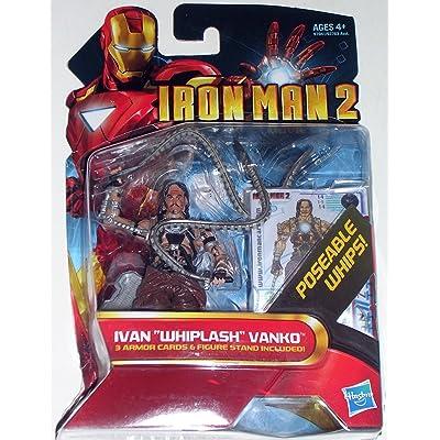 "Marvel Iron Man 2 Action Figure Ivan ""Whiplash"" Vanko #14 3.75 Inch: Toys & Games"
