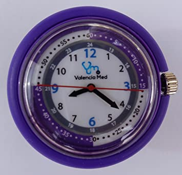 Amazon.com: Valencia Med – Estetoscopio Reloj, color morado ...