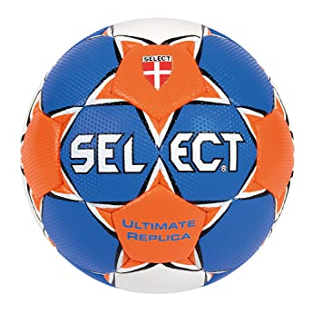 Select Ultimate - Balón de Balonmano Azul Blau/Orange/Weiß Talla:2 ...