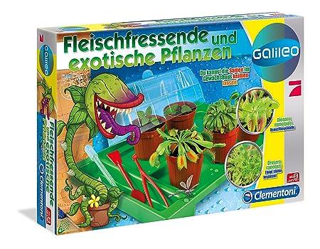 Clementoni 69662 Fleischfressende Pflanzen Galileo