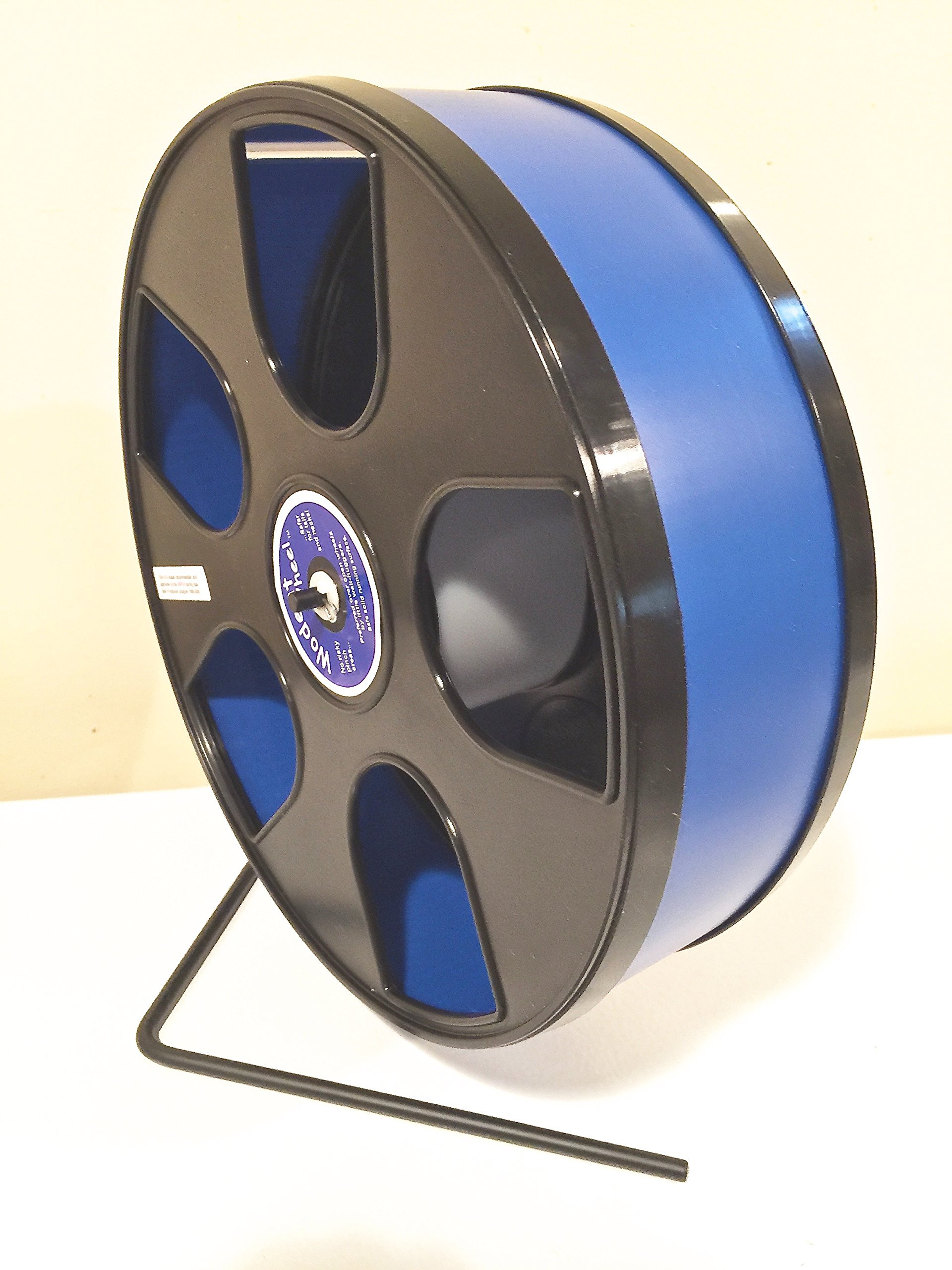 Wodent Wheels Chinchilla, Hedgehog, Wide Track 12'' Diameter Exercise Dark Blue with Black Panels by Wodent Wheels