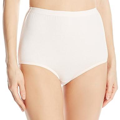 Mature woman white full cut panties opinion