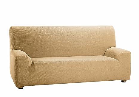 Martina Home Tunez - Funda elástica para sofá, Beige, 1 Plaza (70-110 cm)