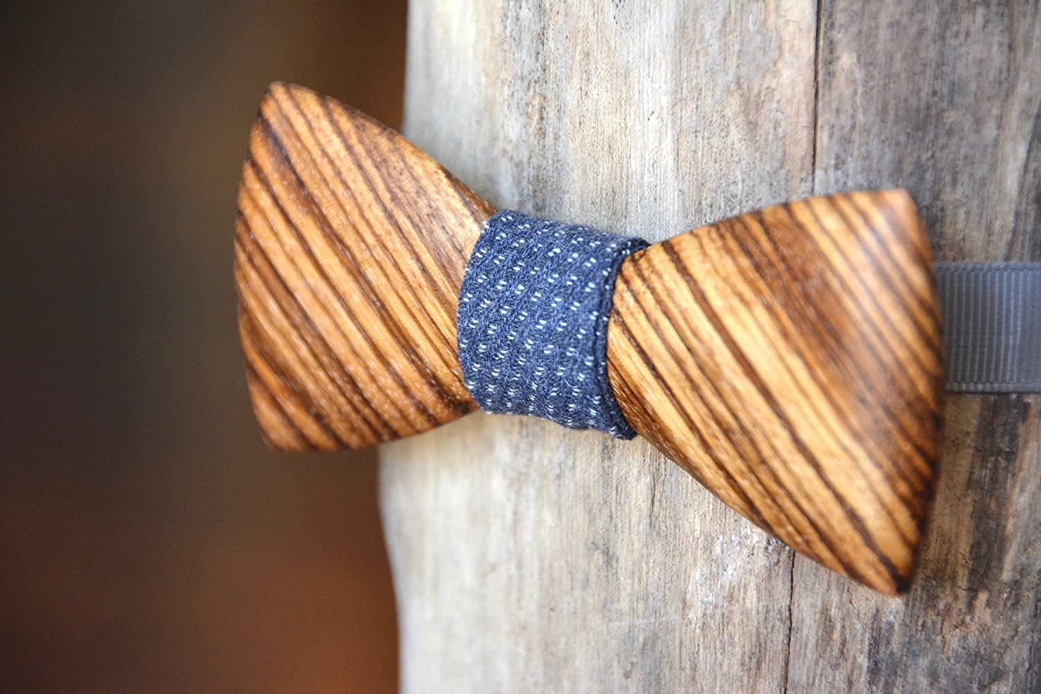 Cocobolo Exotic Wooden Bow Tie