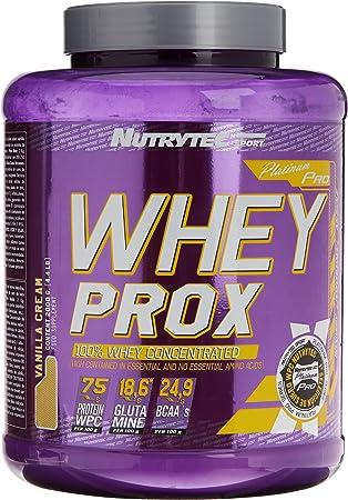 Nutrytec Whey Prox Platinum, Sabor a Vainilla - 2000 gr ...