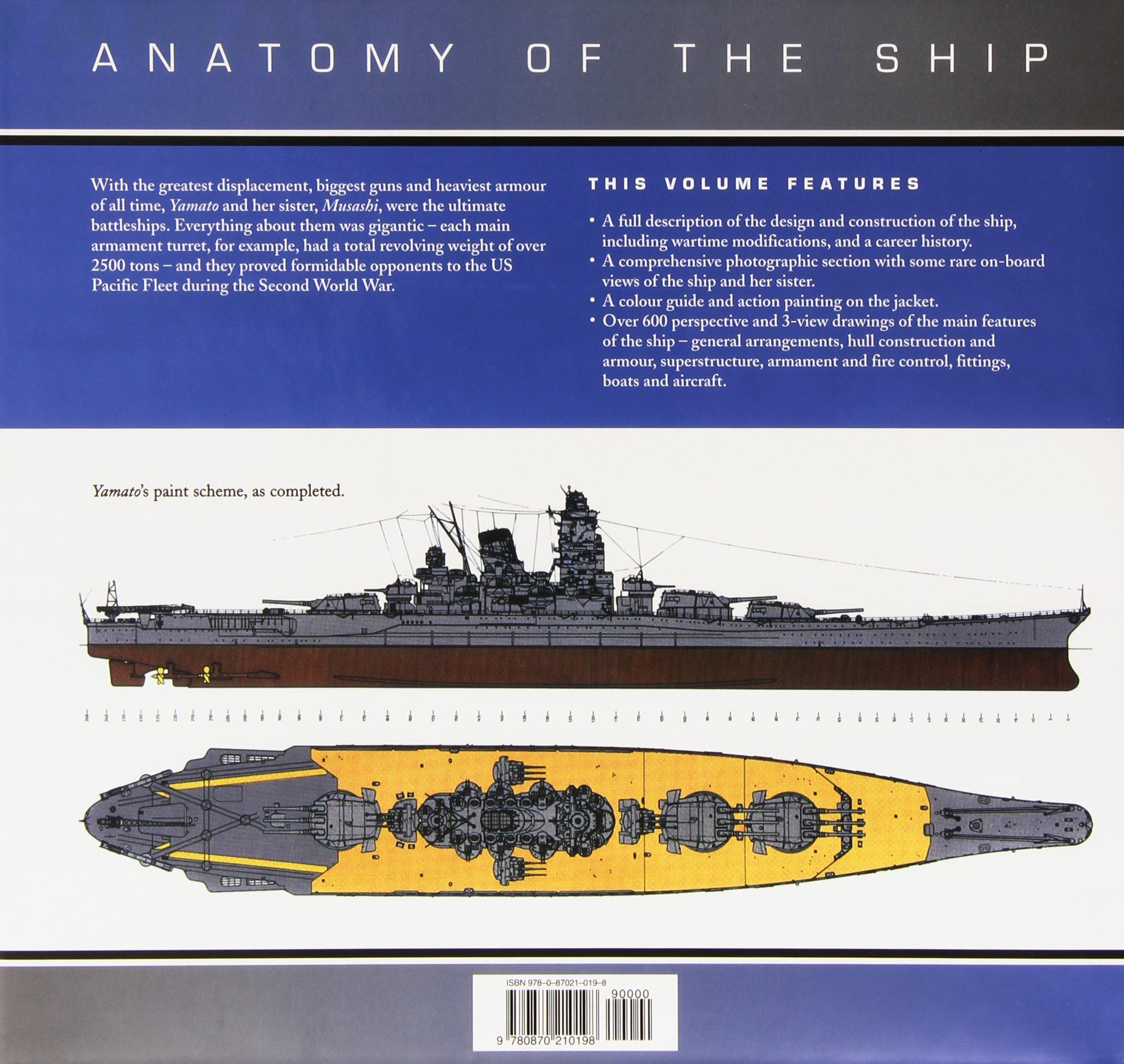 Anatomy Of A Shop The Battleship Yamato Anatomy Of The Ship