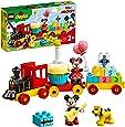 LEGO 10941 DUPLO Disney Musse och Minnies födelsedagskalas, leksaker för småbarn med födelsedagstårta och ballonger