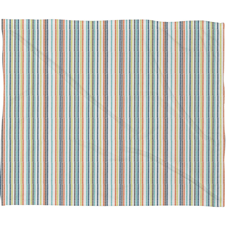 30 x 40 Deny Designs Vy La Triangle Stripe Fleece Throw Blanket