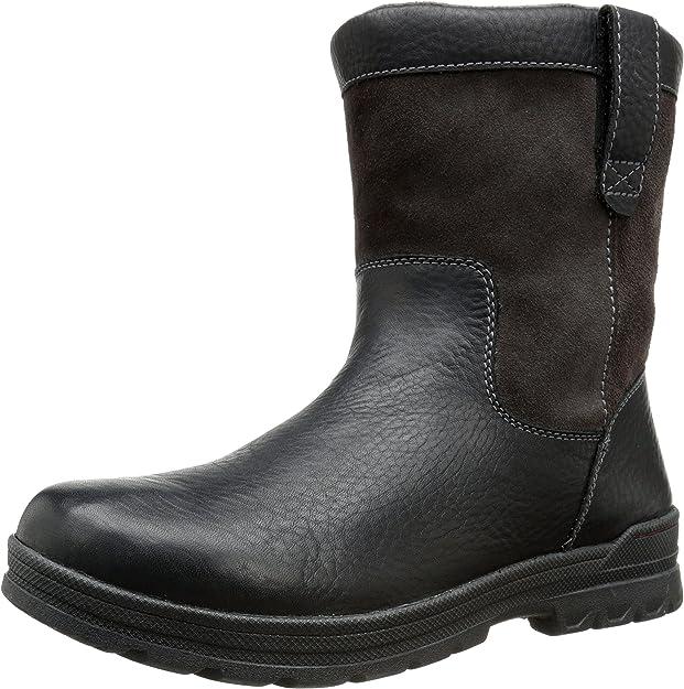 Men/'s Clarks Ryerson Peak Winter Boot Brown Leather SZ 8.5 MSRP 140$