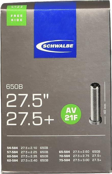 Schwalbe AV 21 Fahrrad Schlauch 27,5/´/´