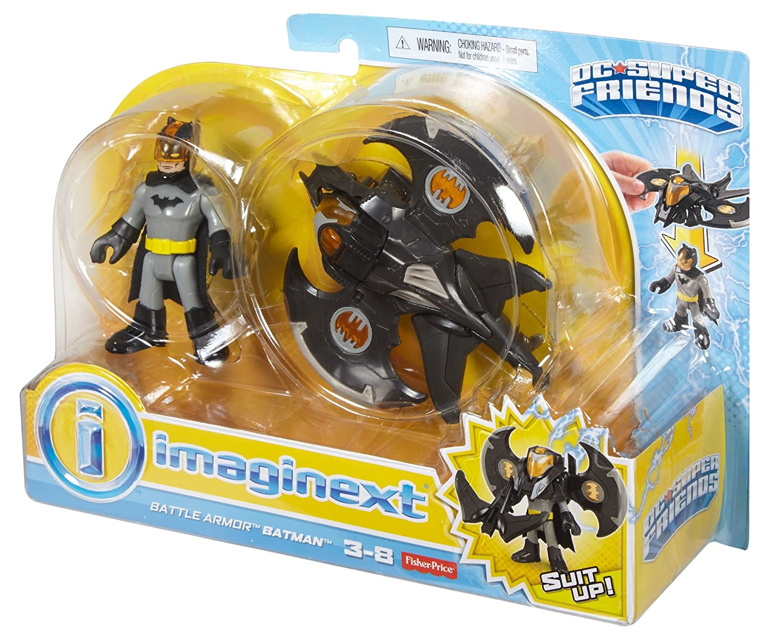 Clever Imaginext Batman Battle Shifterz Batman Figure Tv, Movie & Video Games Toys, Hobbies