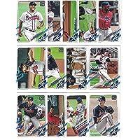$24 » Atlanta Braves/Complete 2021 Topps Baseball Team Set (Series 1) with (13) Cards. ***PLUS (10) Bonus Braves Cards 2020/2019***