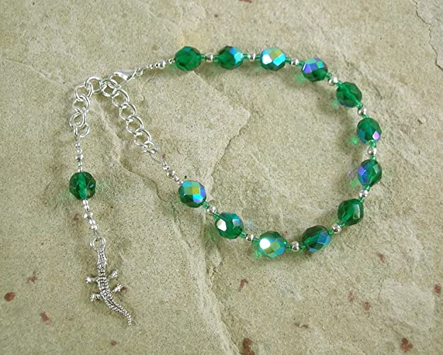 Amazon com: Sobek Prayer Bead Bracelet: Egyptian God of Fertility